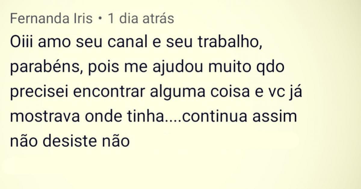 Depoimento Fernanda Iris