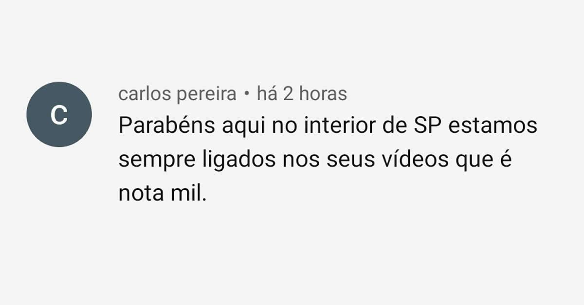 Depoimento Carlos Pereira