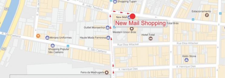 cf85a542c Como ir da Feirinha da madrugada até o Shopping New Mall